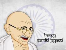 De achtergrond van Gandhijayanti Stock Fotografie