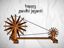De achtergrond van Gandhijayanti Stock Foto's