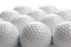 De achtergrond van golfballen Royalty-vrije Stock Foto