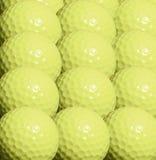 De achtergrond van golfballen Stock Afbeeldingen