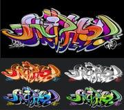 De achtergrond van Graffiti Royalty-vrije Stock Foto's