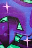 De Achtergrond van Graffiti Stock Afbeelding