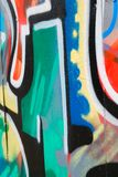 Graffitiachtergrond Stock Foto