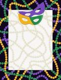 De achtergrond van Gras Carnaval van Mardi Royalty-vrije Stock Foto