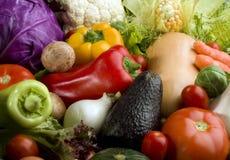 De achtergrond van groenten Stock Afbeeldingen