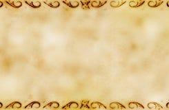 De achtergrond van Grunge met ornamenten Royalty-vrije Stock Afbeelding