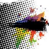 De achtergrond van Grunge met tekstruimte Royalty-vrije Illustratie