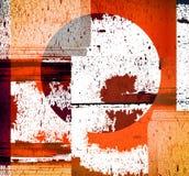 De achtergrond van Grunge met textuur Stock Afbeelding