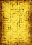 De achtergrond van Grunge met vierkante tegels Royalty-vrije Stock Afbeeldingen