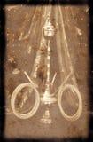 De Achtergrond van Grunge met Waterpijp Royalty-vrije Stock Fotografie