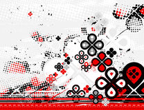 De achtergrond van Grunge, vector Stock Afbeelding