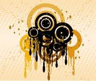 De achtergrond van Grunge - vector royalty-vrije illustratie