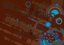 De achtergrond van Grunge, vectorillu Stock Fotografie