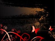 De achtergrond van Grunge voor tekst stock illustratie