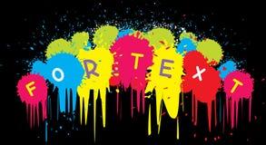 De achtergrond van Grunge voor tekst. Samenvatting Stock Foto's
