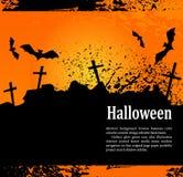 De achtergrond van Grunge voor vakantie Heluin, met kruisen stock illustratie
