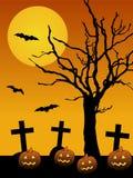 De achtergrond van Halloween Stock Afbeelding