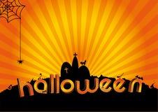 De achtergrond van Halloween Stock Fotografie