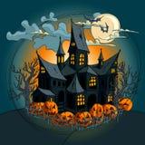 De achtergrond van Halloween Stock Foto's
