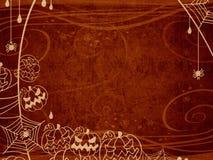 De achtergrond van Halloween Royalty-vrije Illustratie