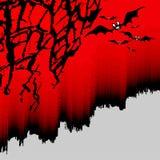 De achtergrond van Halloween Stock Afbeeldingen