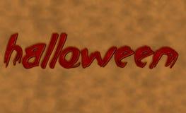 De achtergrond van Halloween Royalty-vrije Stock Afbeeldingen