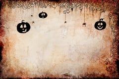 De achtergrond van Halloween grunge Stock Afbeeldingen