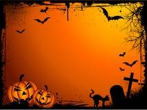 De achtergrond van Halloween van Grunge Royalty-vrije Stock Afbeelding