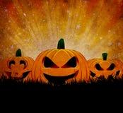 De achtergrond van Halloween van Grunge Stock Foto's