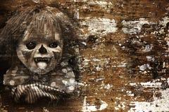 De achtergrond van Halloween van Grunge Royalty-vrije Stock Foto's