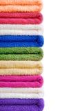 De achtergrond van handdoeken Royalty-vrije Stock Afbeeldingen