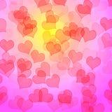 De Achtergrond van harten Royalty-vrije Stock Afbeeldingen