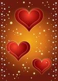 De Achtergrond van harten! Vector Illustratie