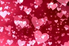 De achtergrond van harten Stock Afbeelding