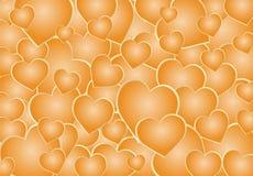 De achtergrond van harten Royalty-vrije Stock Fotografie