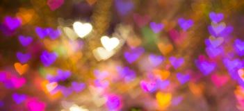 De achtergrond van harten Abstract beeld op de Dag en de liefde van Valentine ` s Royalty-vrije Stock Foto