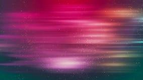 De Achtergrond van HD Loopable met aardige abstracte noordelijke lichten royalty-vrije illustratie