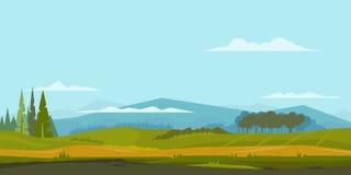 De achtergrond van het aardlandschap Royalty-vrije Stock Afbeelding