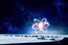 De achtergrond van het astronomieconcept Royalty-vrije Stock Foto