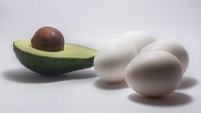 De achtergrond van het avocadoeiwit Royalty-vrije Stock Foto