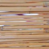De achtergrond van het bamboe. Stock Foto
