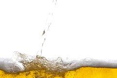 De achtergrond van het bier stock foto's