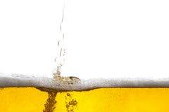 De achtergrond van het bier royalty-vrije stock foto