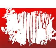 De achtergrond van het bloed stock illustratie