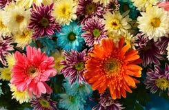 De achtergrond van het bloemboeket royalty-vrije stock afbeeldingen