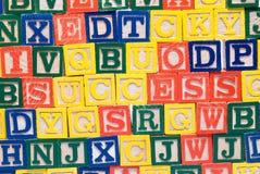 De Achtergrond van het Blok van de baby Stock Afbeelding