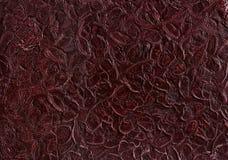 De achtergrond van het Bourdouxleer of textuur, abstract patroon, close-up, macro Stock Afbeeldingen