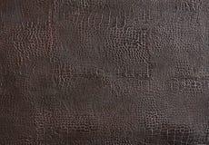 De achtergrond van het Bourdouxleer of textuur, abstract patroon, close-up, macro Stock Fotografie