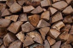De Achtergrond van het brandhout Stock Afbeeldingen