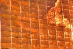 De achtergrond van het brandvenster Stock Afbeeldingen